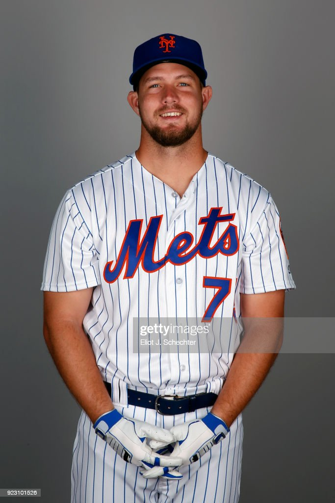 David Thompson #75 of the New York Mets poses during Photo Day on Wednesday, February 21, 2017 at Tradition Field in Port St. Lucie, Florida.