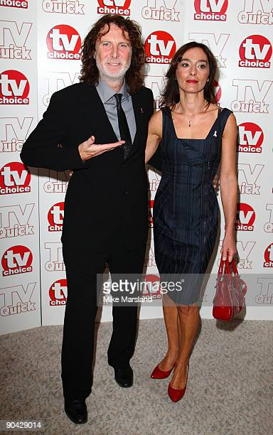 David Threlfall attends the TV Quick Tv Choice Awards at The Dorchester on September 7 2009 in London England