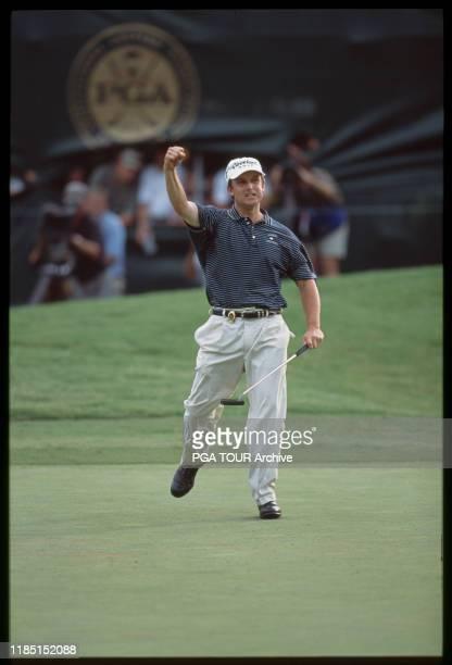 David Toms 2001 PGA Championship - 8/19/2001 - Sunday Photo by Chris Condon/PGA TOUR Archive via Getty Images
