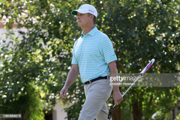 David Toms during the final round of the Charles Schwab Cup Championship at Phoenix Country Club on November 11, 2018 in Phoenix, Arizona.
