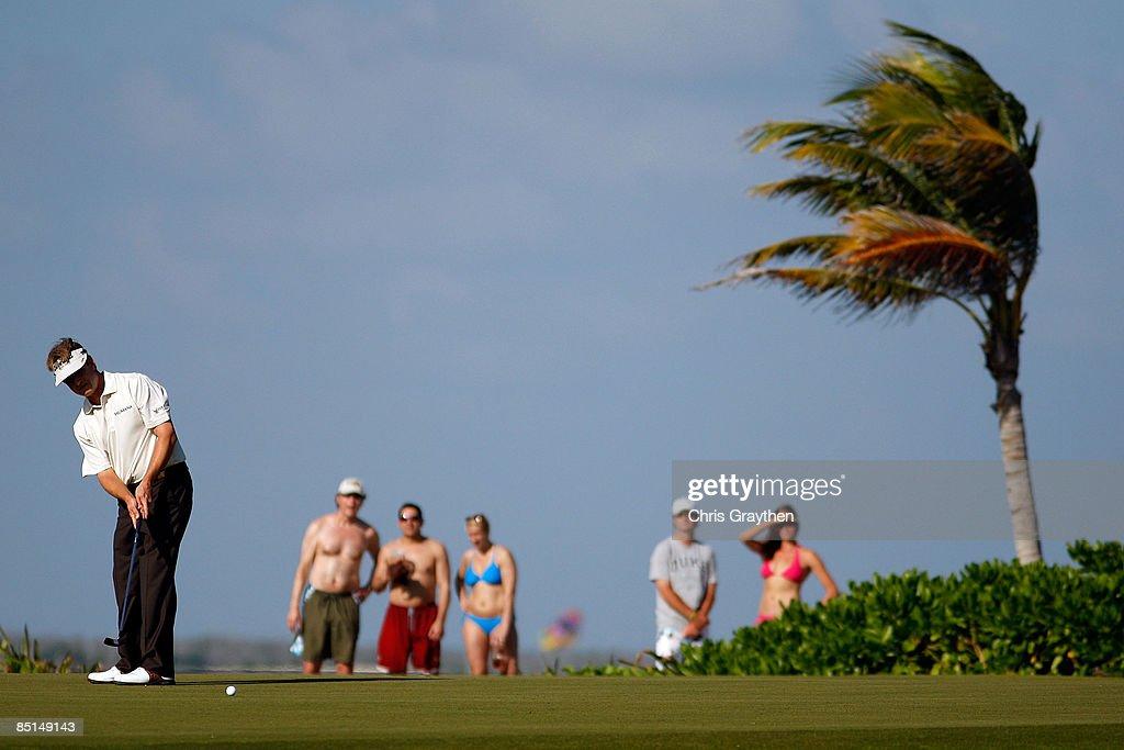 Mayakoba Golf Classic at Riviera Maya - Round Two : News Photo