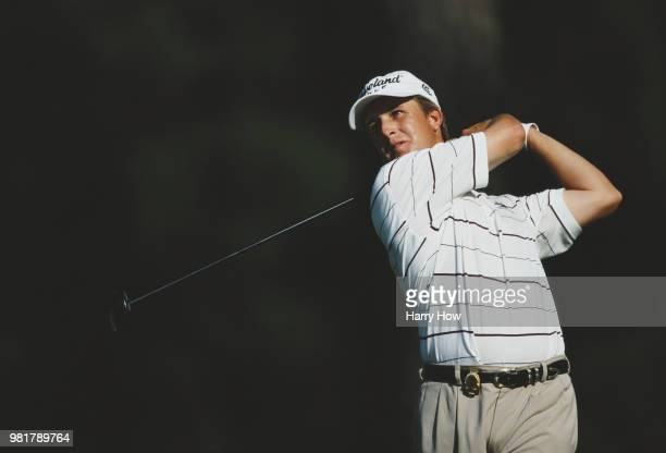 David Toms of the United States during the 83rd PGA Championship golf tournament on 16 August 2001 at the Atlanta Athletic Club Highlands Course in...