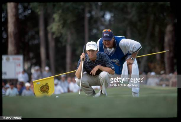 David Toms, Scott Gneiser 2001 PGA Championship - - Sunday Photo by Chris Condon/PGA TOUR Archive