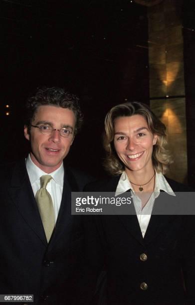 David Toscan du Plantier and his girlfriend attend a benefit party for the Association pour la Vie Espoir contre le Cancer in Paris The fundraiser is...