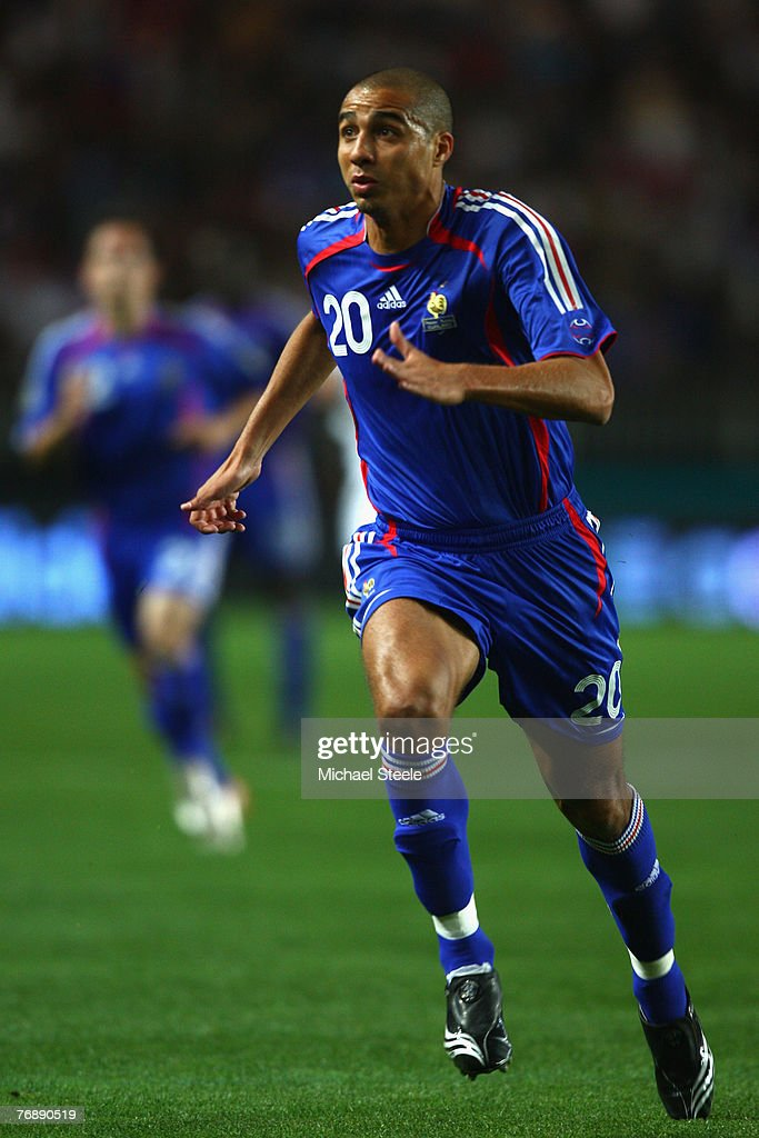 David Trezeguet of France during the Euro 2008 Group B qualifying match between France and Scotland at the Parc de Princes on September 12th,2007.