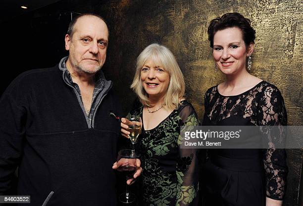 David Troughton Alison Steadman and Josie Walker attend the opening night after party for Alan Bennett's play 'Enjoy' at Teatro's in Shaftesbury...