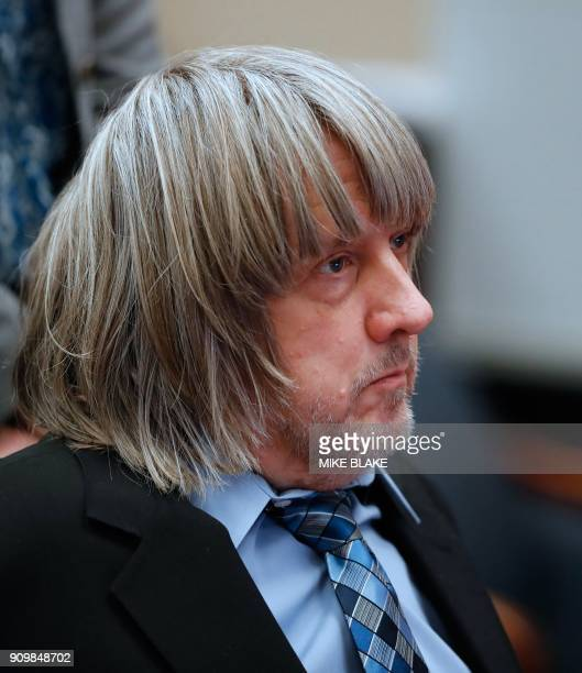 David Turpin looks on in court where he and wife Louise appeared with their lawyers on January 24 2018 in Riverside California David Allen Turpin and...