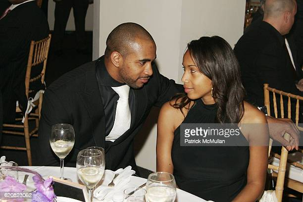 David Tyree and Leilah Tyree attend CHILDREN OF THE CITY GALA Honoring DAVID TYREE and Hosted by RICHARD JEFFERSON with MC STEVE SCHIRRIPA at Tribeca...