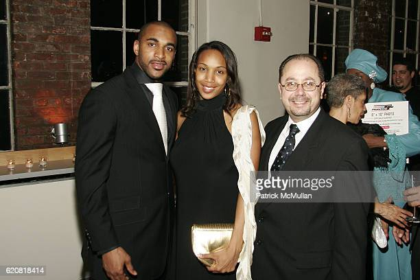 David Tyree Leilah Tyree and John Cirillo attend CHILDREN OF THE CITY GALA Honoring DAVID TYREE and Hosted by RICHARD JEFFERSON with MC STEVE...