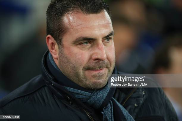 David Unsworth caretaker head coach / manager of Everton during the UEFA Europa League group E match between Everton FC and Atalanta at Goodison Park...