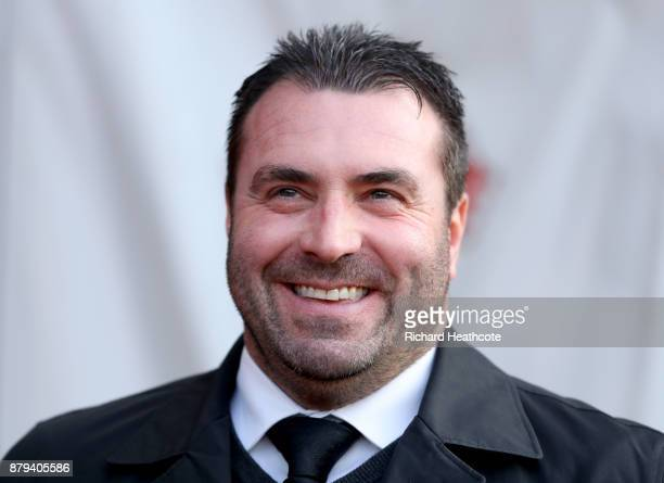 David Unsworth Caretaker Manager of Everton during the Premier League match between Southampton and Everton at St Mary's Stadium on November 26 2017...