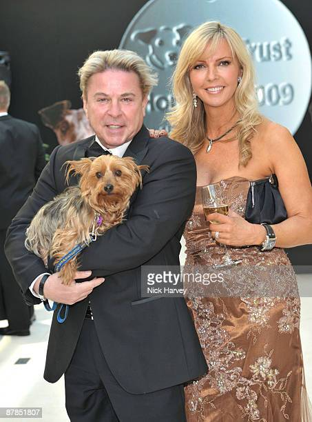 David Van Day and Sue Moxley with Maddie the dog attend the Dogs Trust Honours 2009 at The Hurlingham Club on May 19 2009 in London England