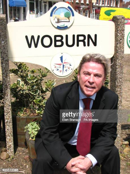 David Van Day on his visit to Woburn in Mid Bedfordshire the constituency where he plans to stand against Conservative MP Nadine Dorries