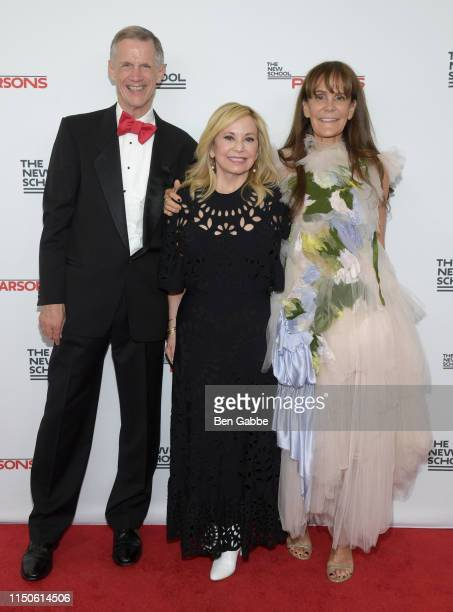 David Van Zandt, Julie Wainwright, and Julie Gilhart attend the 71st Annual Parsons Benefit honoring Pharrell, Everlane, StitchFix & The RealReal on...