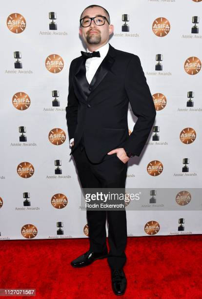 David Vasquez attends the 46th Annual Annie Awards at Royce Hall UCLA on February 02 2019 in Westwood California
