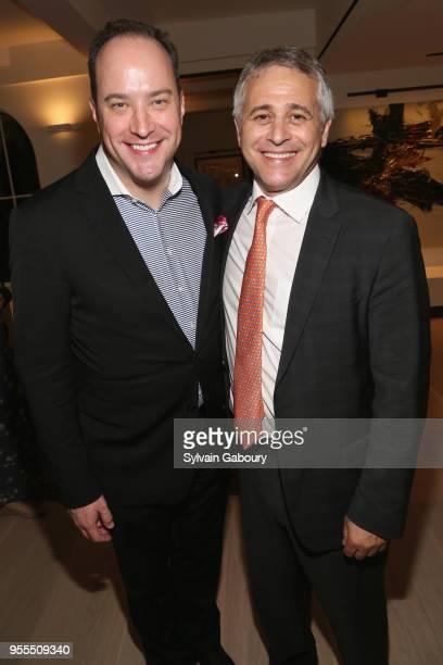 David Vennett and Jonathan Wachtel attend Ambassador Grenell Goodbye Bash on May 6 2018 in New York City