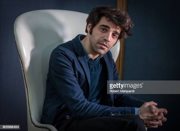 David Verdaguer poses for the press during a candidate presentation for the 10th Gaudi Awards 2018 at the Hotel Mandarin Oriental on January 17 2018...