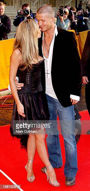 David Victoria Beckham Attend The 19 Managment 19Th Anniversary Party At The Royal Albert Hall In London