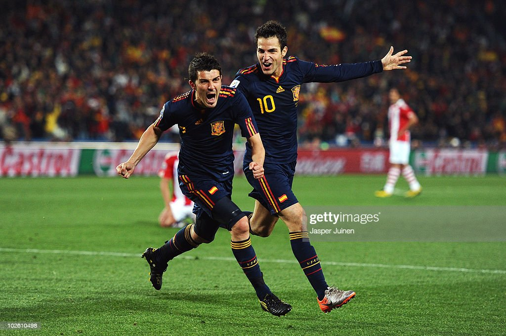 Paraguay v Spain: 2010 FIFA World Cup - Quarter Finals : News Photo