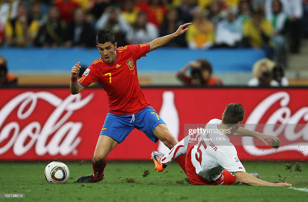Spain v Switzerland: Group H - 2010 FIFA World Cup : News Photo