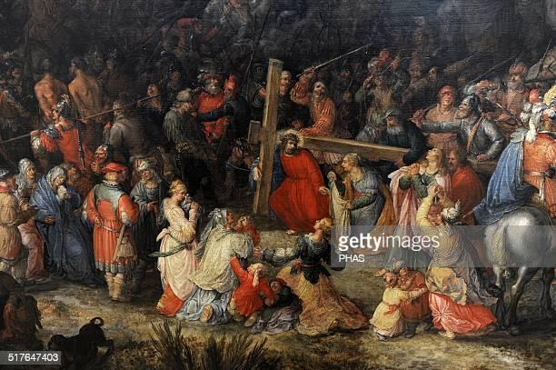 David Vinckboons Flemish painter Christ carrying the cross Alte Pinakothek Munich Germany