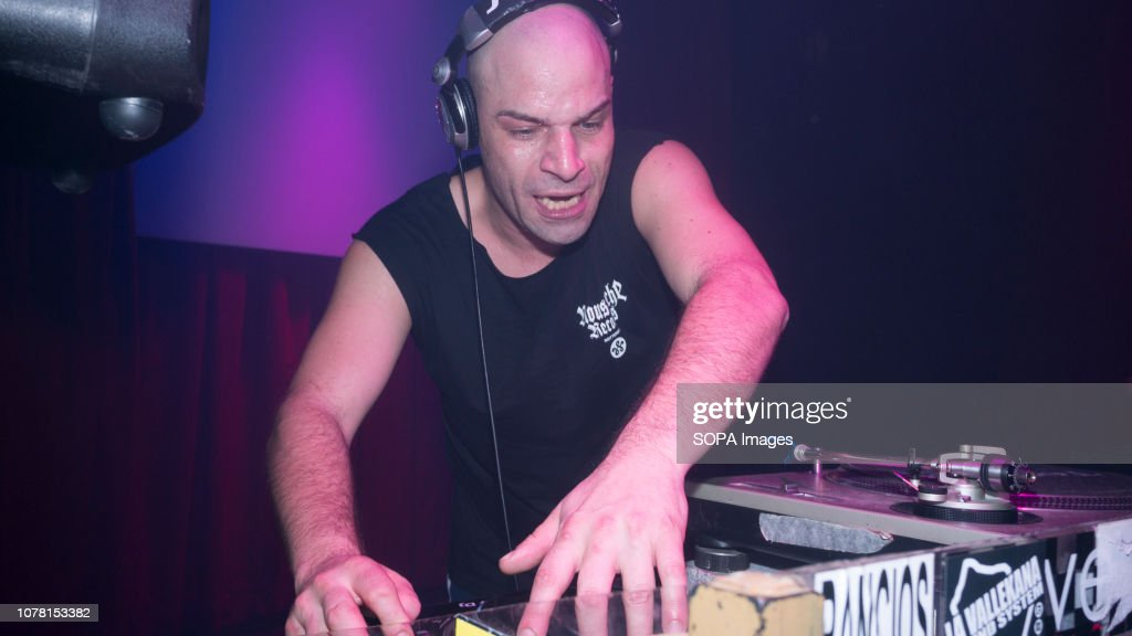 David Vunk leader of italo disco electronic music for the first time