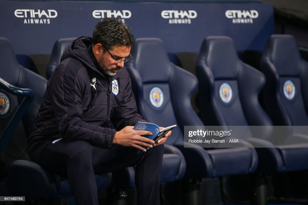 Manchester City v Huddersfield Town - The Emirates FA Cup Fifth Round Replay : News Photo