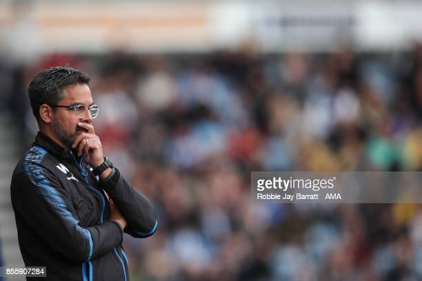 David Wagner head coach / manager of Huddersfield Town during the Premier League match between Huddersfield Town and Tottenham Hotspur at John...