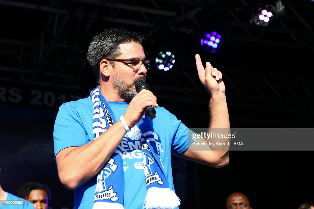 David Wagner head coach / manager of Huddersfield Town on May 30, 2017 in Huddersfield, England. (Photo by Robbie Jay Barratt - AMA/Getty Images) David Wagner