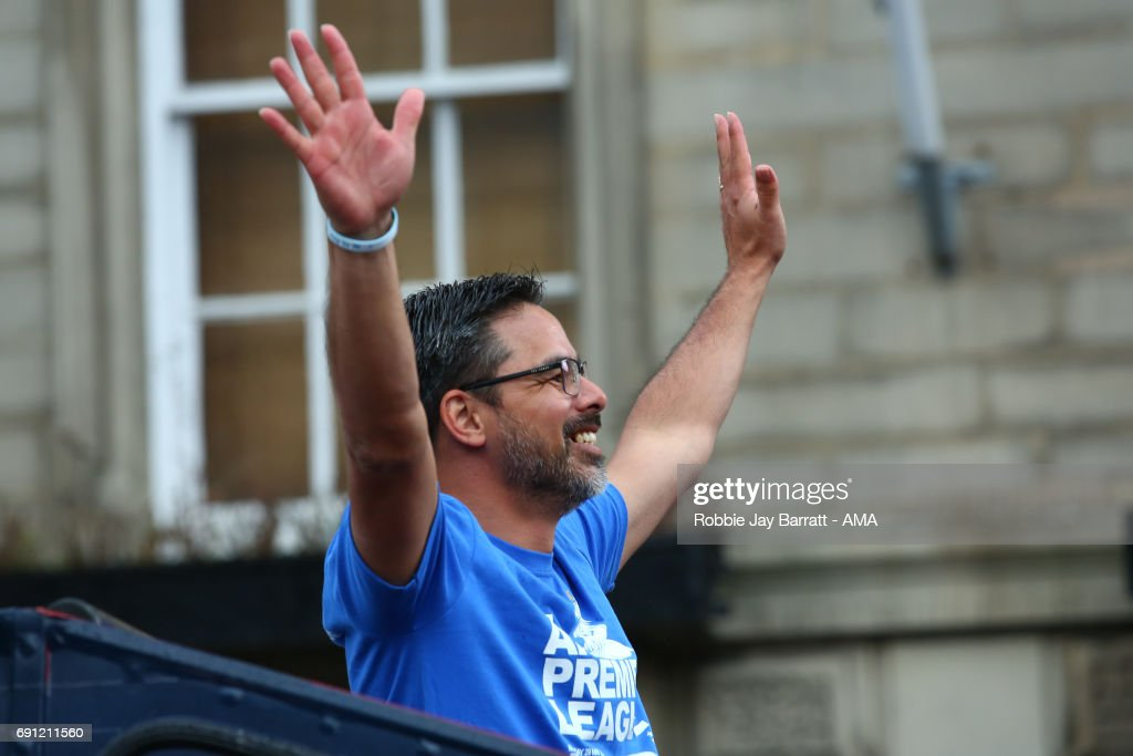 Huddersfield Town Promotion Parade : News Photo
