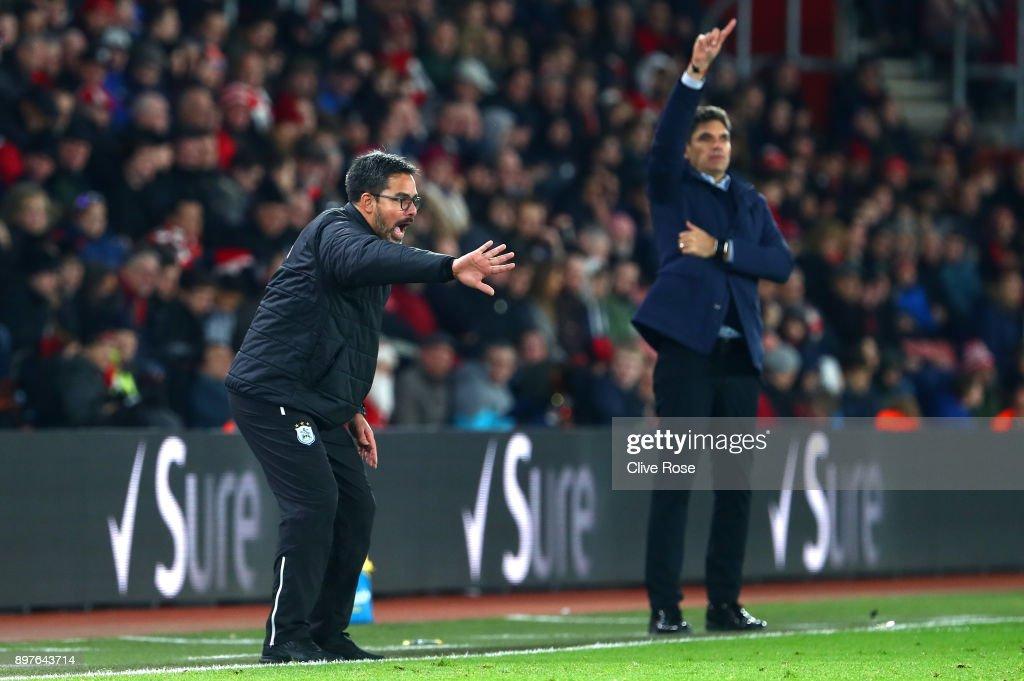 Southampton v Huddersfield Town - Premier League : News Photo