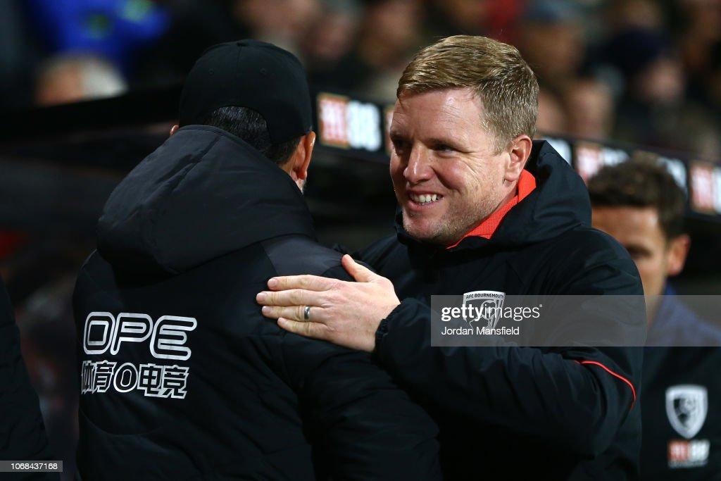 AFC Bournemouth v Huddersfield Town - Premier League : News Photo