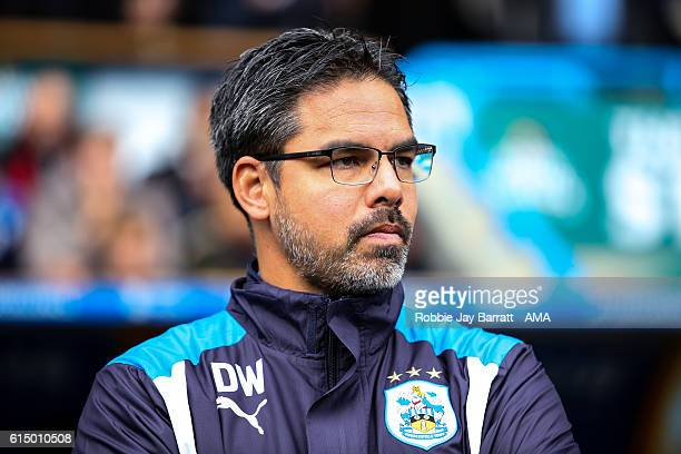 David Wagner manager of Huddersfield Town looks on during the Sky Bet Championship match between Huddersfield Town and Sheffield Wednesday at John...