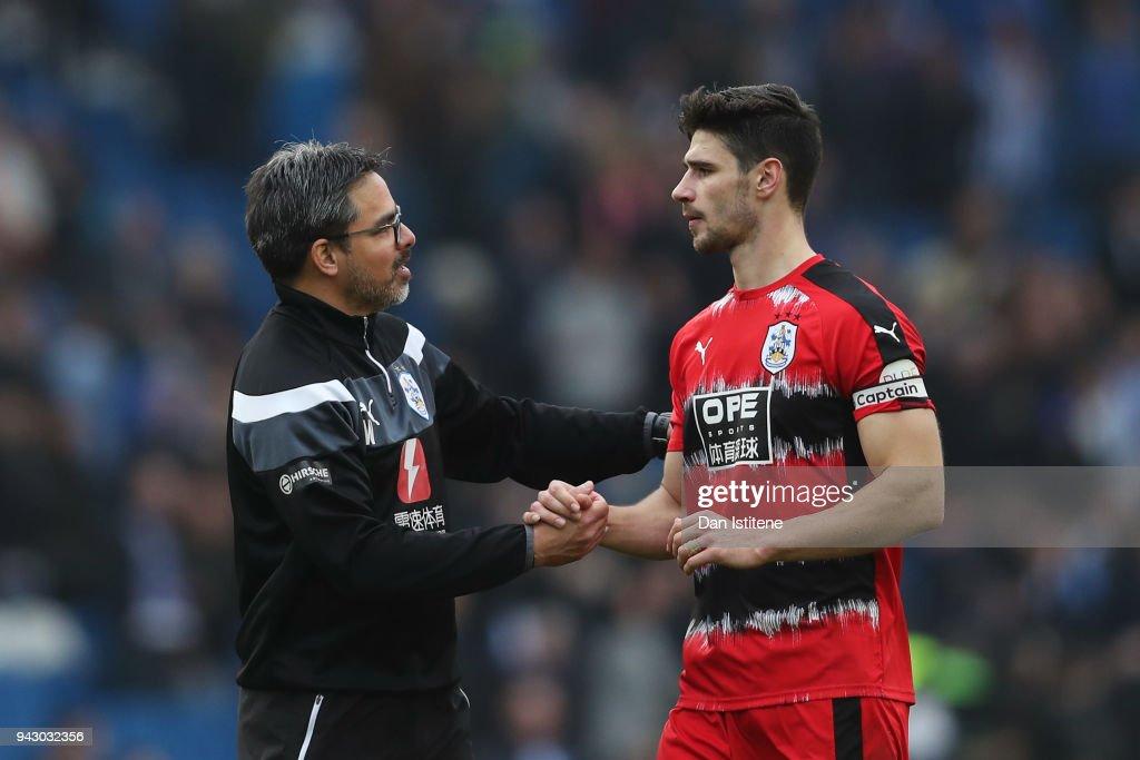 Brighton and Hove Albion v Huddersfield Town - Premier League : News Photo