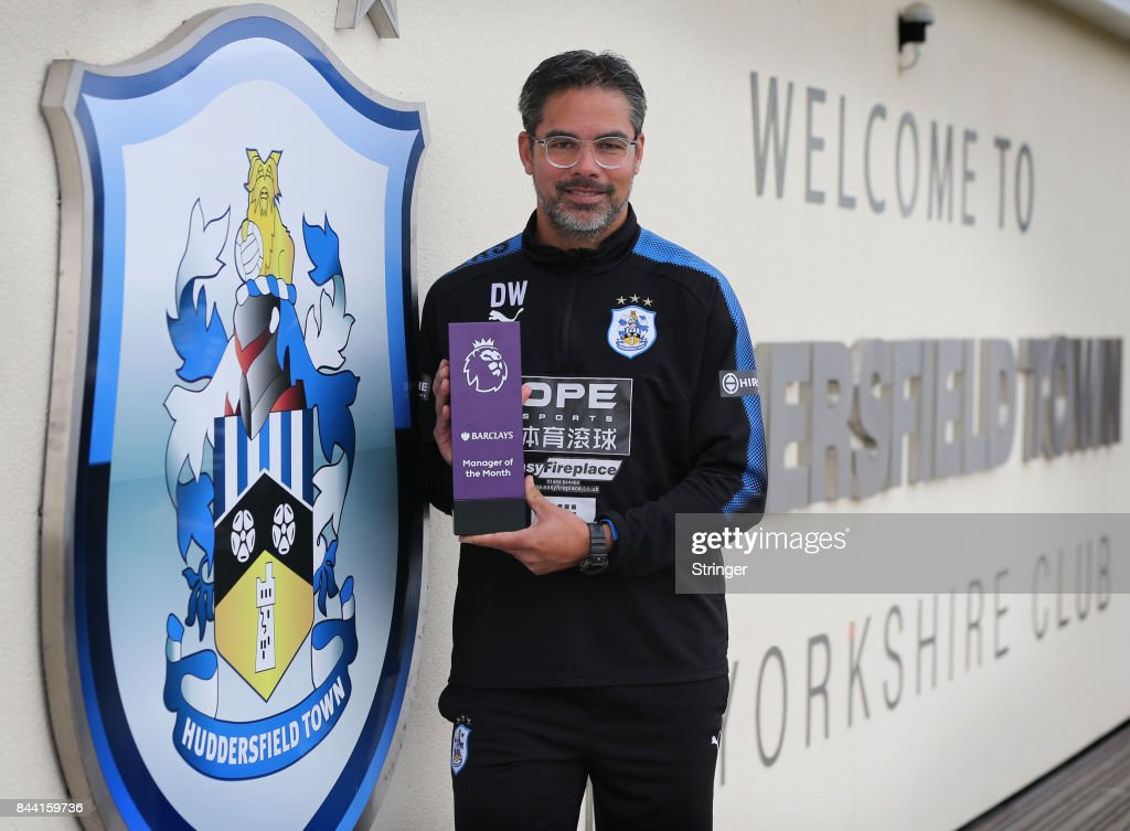 David Wagner wins Barclays Manager of the Month Award : ニュース写真