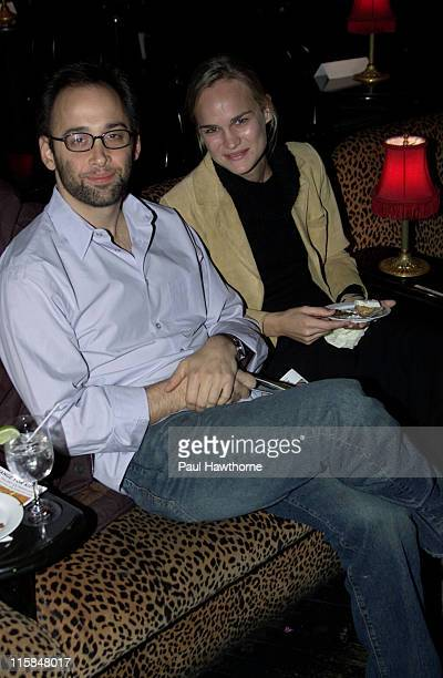 David Wain and Amy Rice during Change For Kids 6th Annual Talent Extravaganza at Studio 54 in New York City New York United States