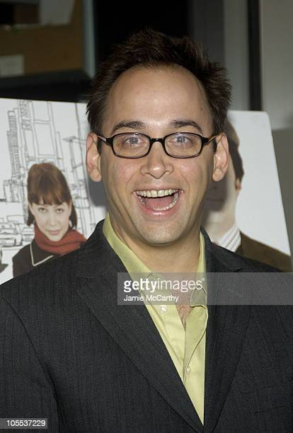 David Wain during 'The Baxter' New York City Premiere Arrivals at The IFC Theater in New York City New York United States