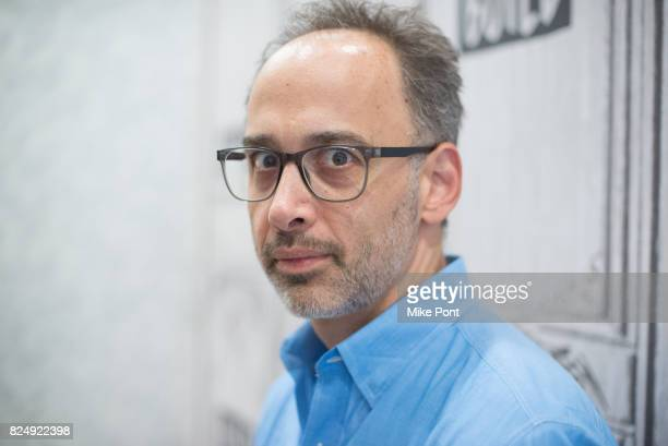David Wain visits Build Studio to discuss 'Wet Hot American Summer Ten Years Later' at Build Studio on July 31 2017 in New York City