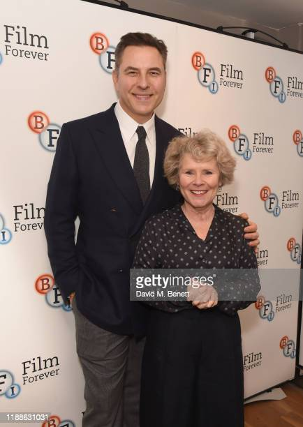 David Walliams and Imelda Staunton attend the Cinderella After The Ever After screening and QA and West Side Story QA at the BFI Southbank on...