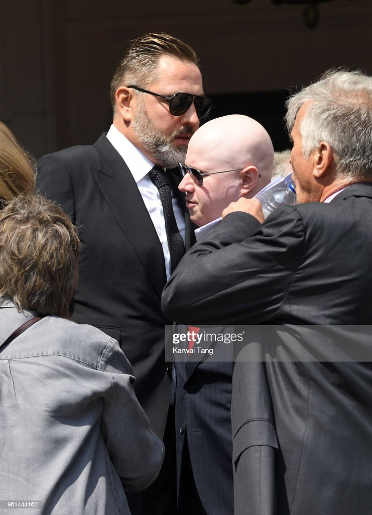 Dale Winton Funeral : News Photo