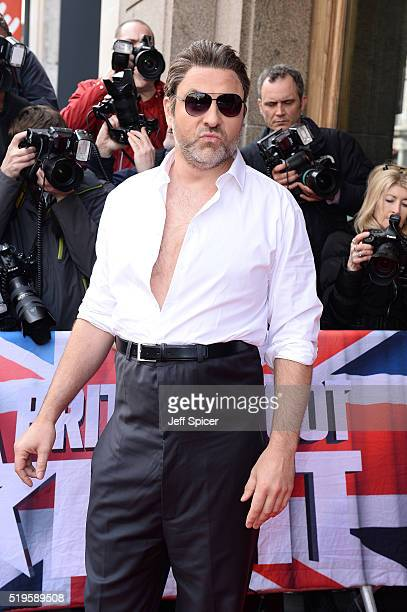 David Walliams arrives for the launch of Britain's Got Talent at Regent Street Cinema on April 7 2016 in London England