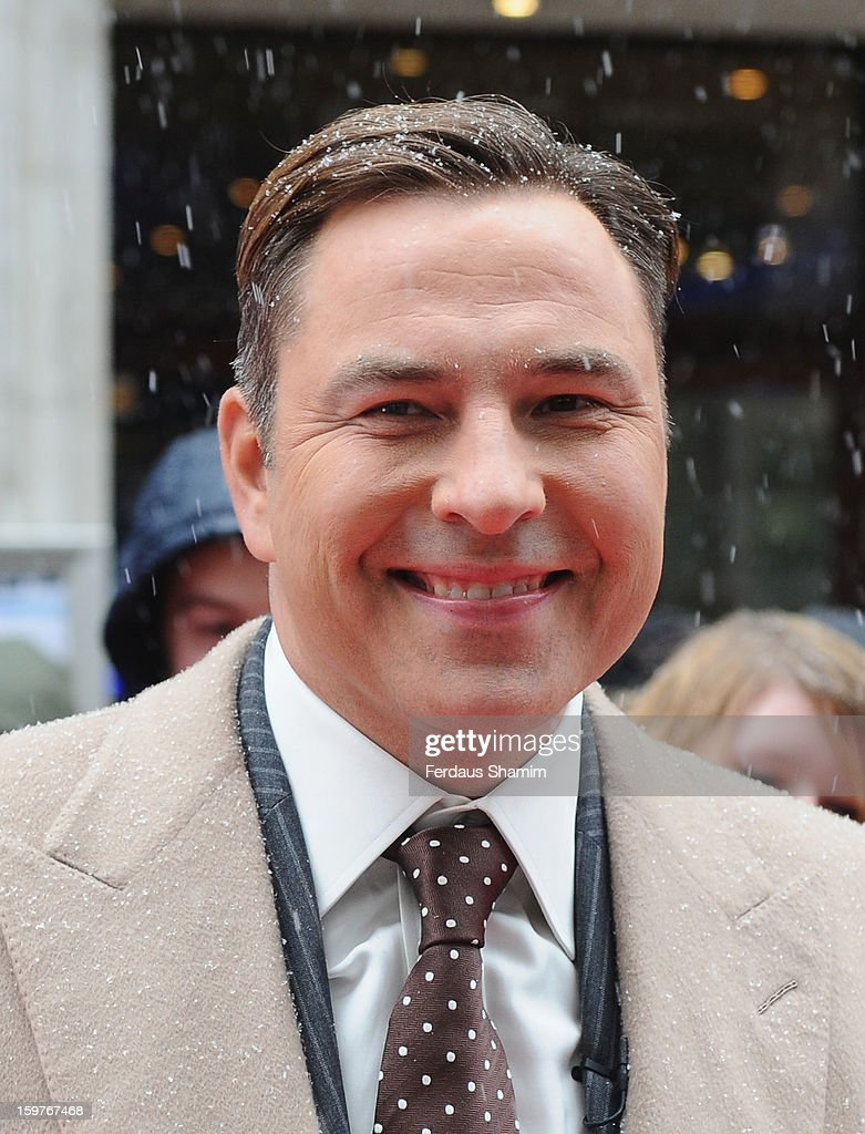 David Walliams arrives for the London judges auditions for 'Britain's Got Talent' at London Palladium on January 20, 2013 in London, England.