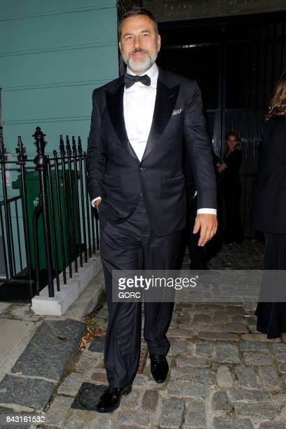David Walliams at the GQ awards afterparty in Primrose Hill on September 5 2017 in London England