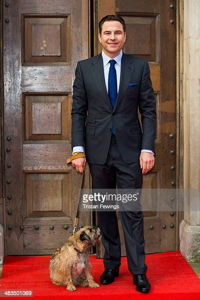 David Walliams attends a photocall for Britain's Got Talent at St Luke's Church on April 9 2014 in London England