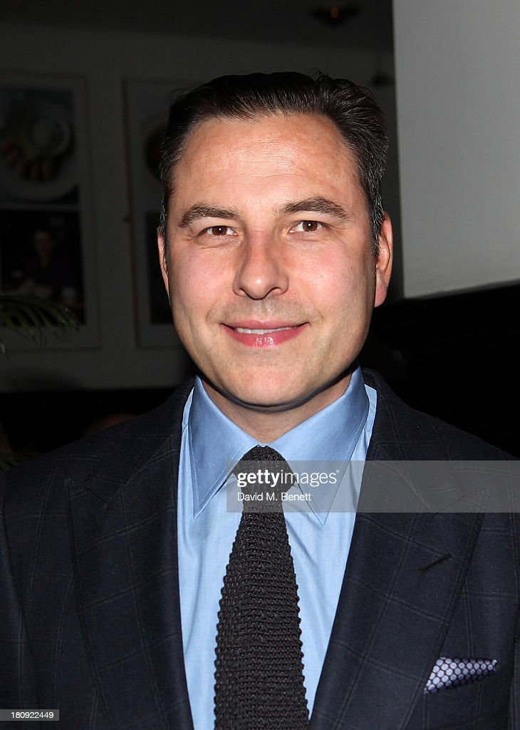 David Walliams attends an after party following his press night performance of 'A Midsummer Night's Dream' at The National Cafe on September 17, 2013 in London, England.