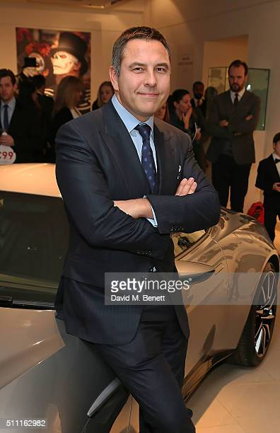 David Walliams attends 'James Bond Spectre The Auction' at Christie's King Street on February 18 2016 in London England