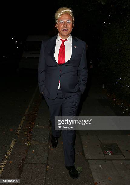 David Walliams attends Jonathan Ross's Halloween Party on October 31 2016 in London England