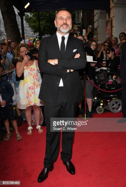 David Walliams attends the Gangsta Granny West End press night at the Garrick Theatre on August 1 2017 in London England