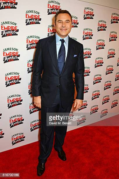 David Walliams attends the Jameson Empire Awards 2016 at The Grosvenor House Hotel on March 20 2016 in London England