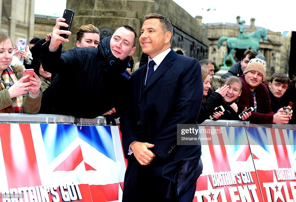 David Walliams attends the Liverpool auditions for Britain's Got Talent at Liverpool Empire Theatre on January 15, 2016 in Liverpool, England.